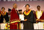 Eminent personalities including Social Entrepreneur Mr. Sonam Wangchuk confered Honorary Doctorates by The ICFAI University
