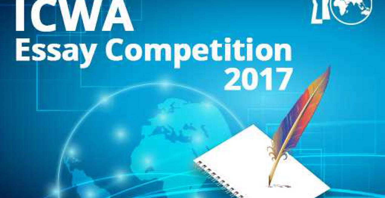 icwa essay writing competition for students announced   n council of world affairs announces the second edition of icwa essay competition for students