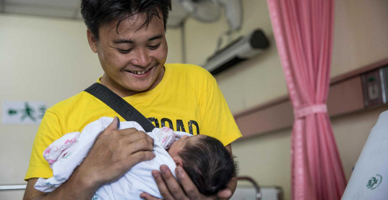 UNICEF launches parenting site to bring fathers together to share experiences of parenthood