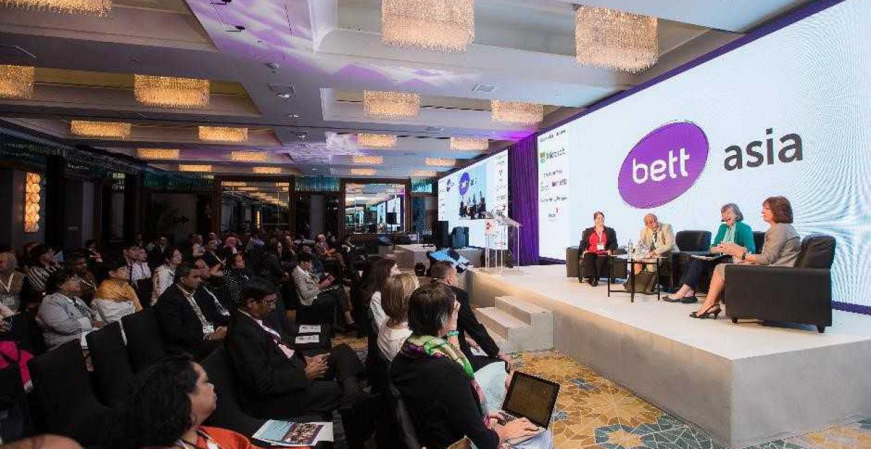 Bett Asia 2017 is celebrating the power of partnership with the theme 'Cultivating Global Collaboration in Education'