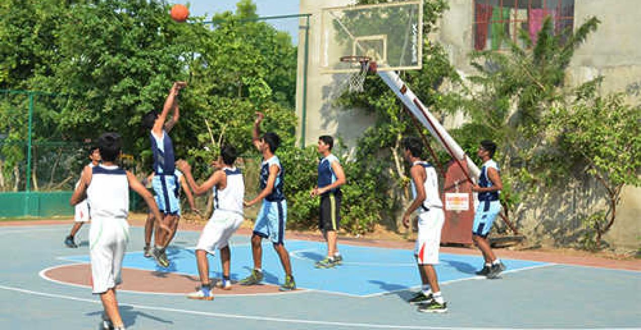 Sanskar School Baskets the Final Ball: JSSC Interschool Basketball Tournament