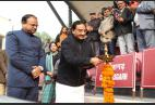 Union HRD Minister Ramesh Pokhriyal 'Nishank' inaugurates 65th National School Games (SGFI) in New Delhi