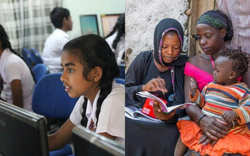 UNESCO Felicitates Two Organisation Working in Girl Child Education