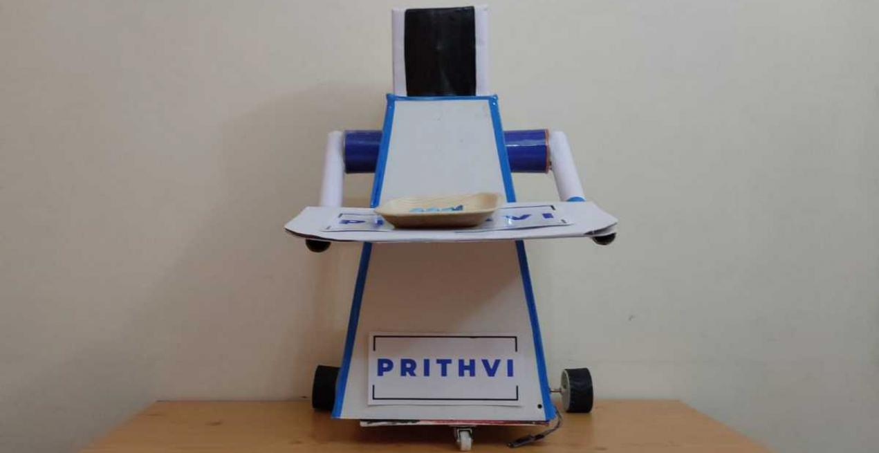 Meet The Indian Students Who Invented Robot To Abort Corona