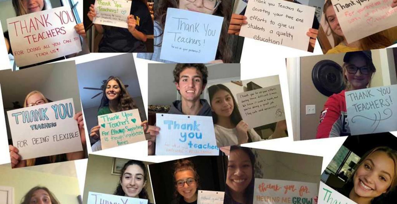 Campaign #ThankYouTeacher Goes Viral As Students Share Gratitude Messages