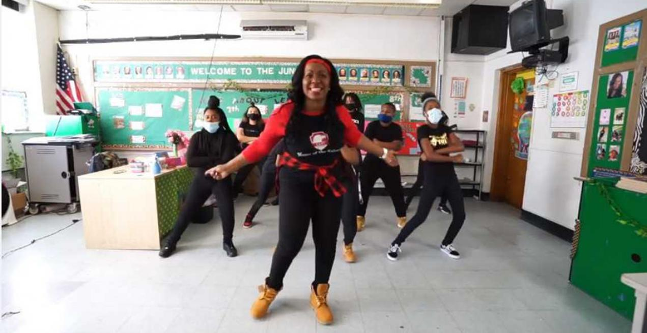 Cleveland Teacher Raps & Dances With Her Students, Video Goes Viral