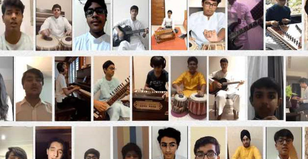 3 Indian Schools Sing To Celebrate Term End, Enjoy No-Instrument Challenge & Spread Smiles During Lockdown