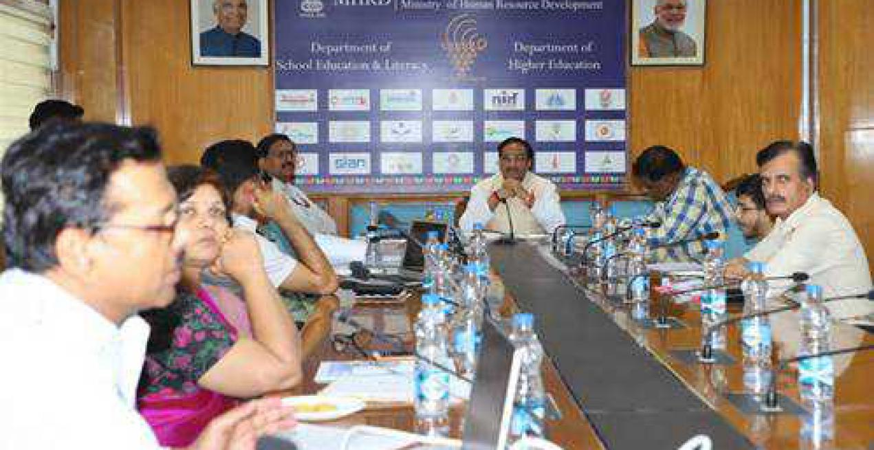 HRD Minister Pokhriyal 'Nishank' reviews Open Distance Learing, RUSA & Digital Initiatives of MHRD