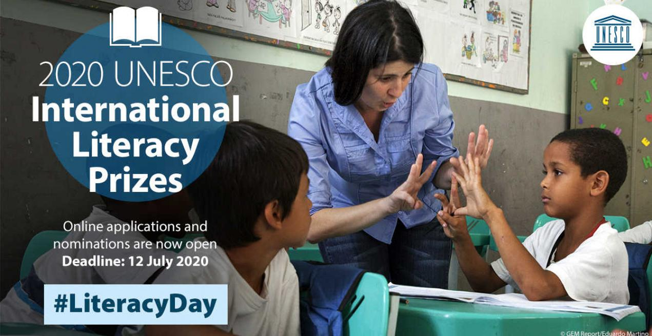 Know Of Great Educators? Nominate Them For UNESCO International Literacy Prizes 2020