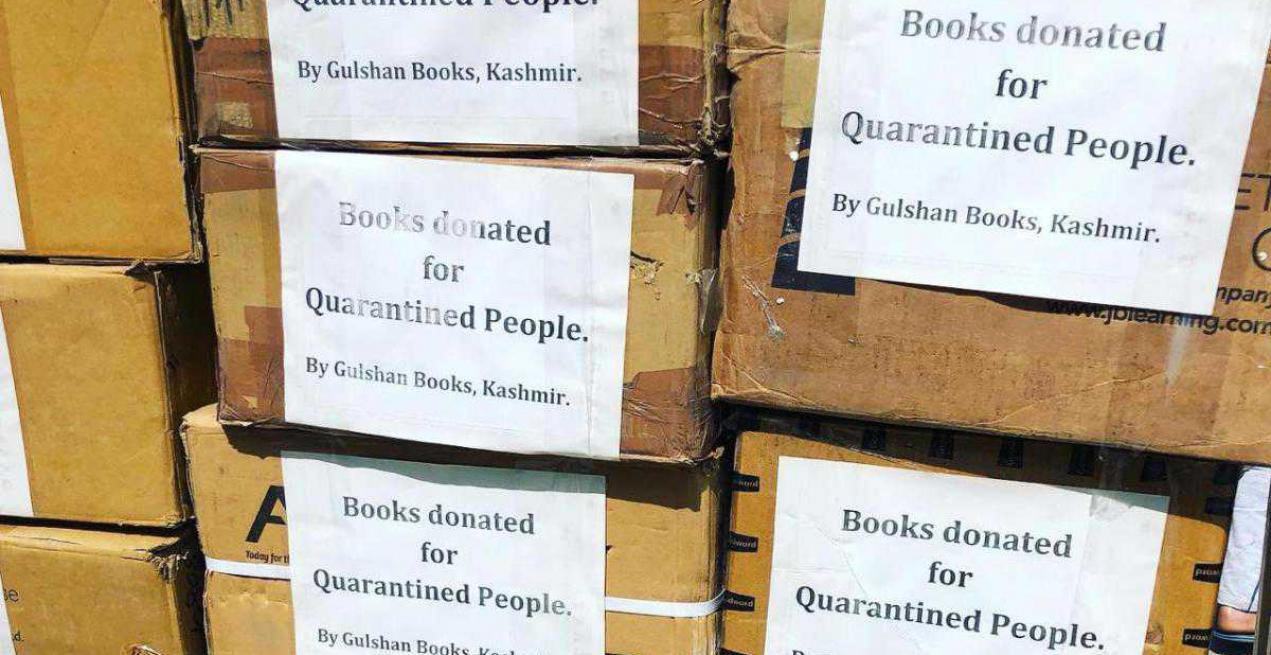Kashmir's Unique Bookstore on Lake Donates Books to Isolated People