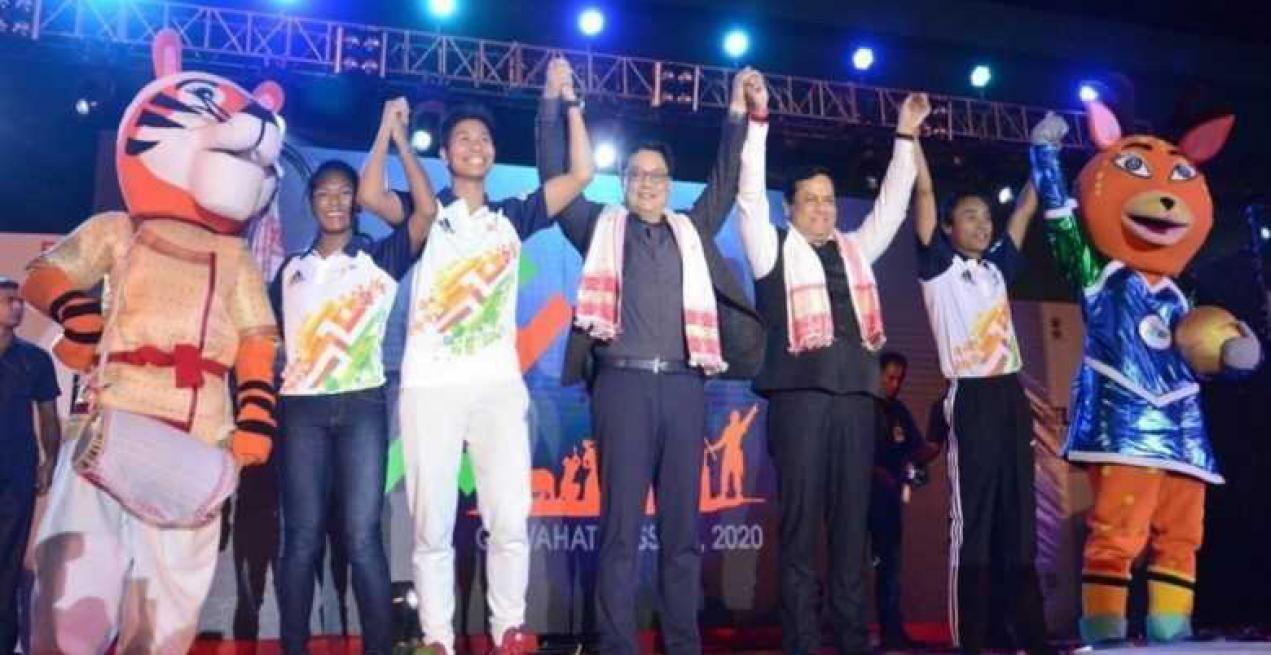 Third Edition of Khelo India Youth Games to take off with a Glitzy Opening Ceremony