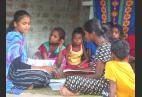 This Young Woman From A Tribal Village Is Teaching The Children While Schools Are Closed
