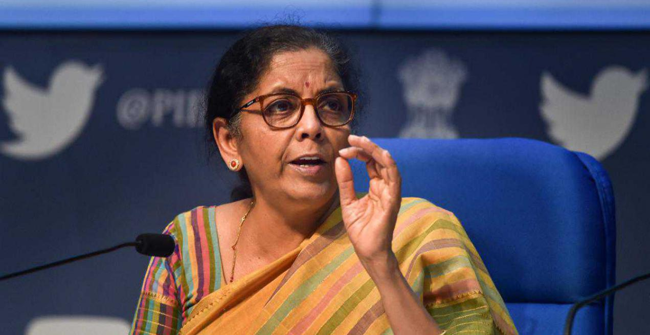 Indian Finance Minister Announces Aid to The Education Sector