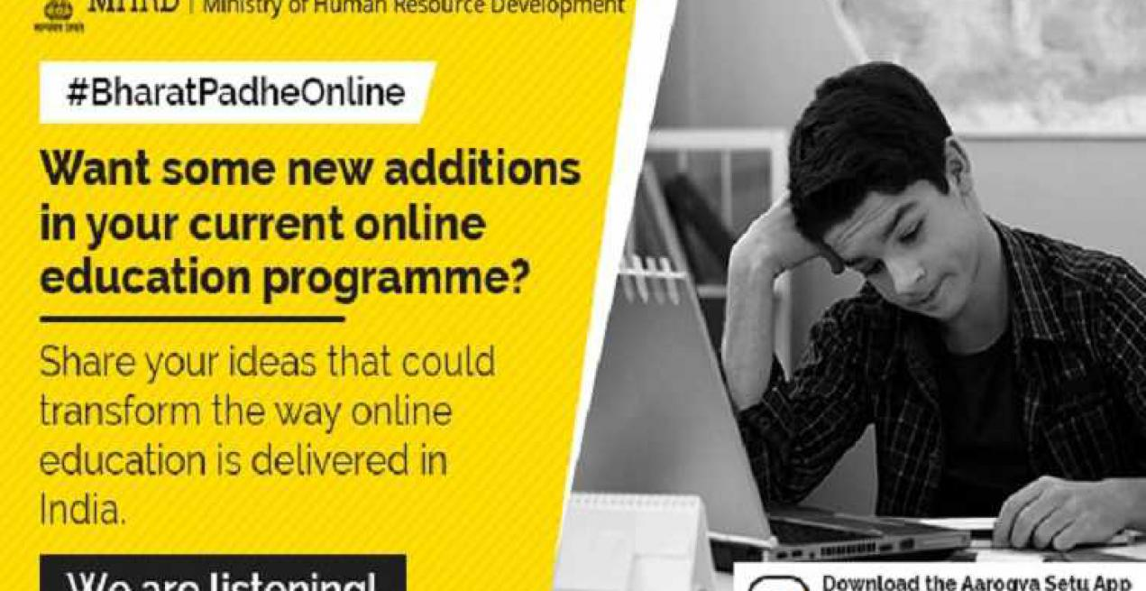 'Bharat Padhe Online' Initiative To Promote Online Education in India
