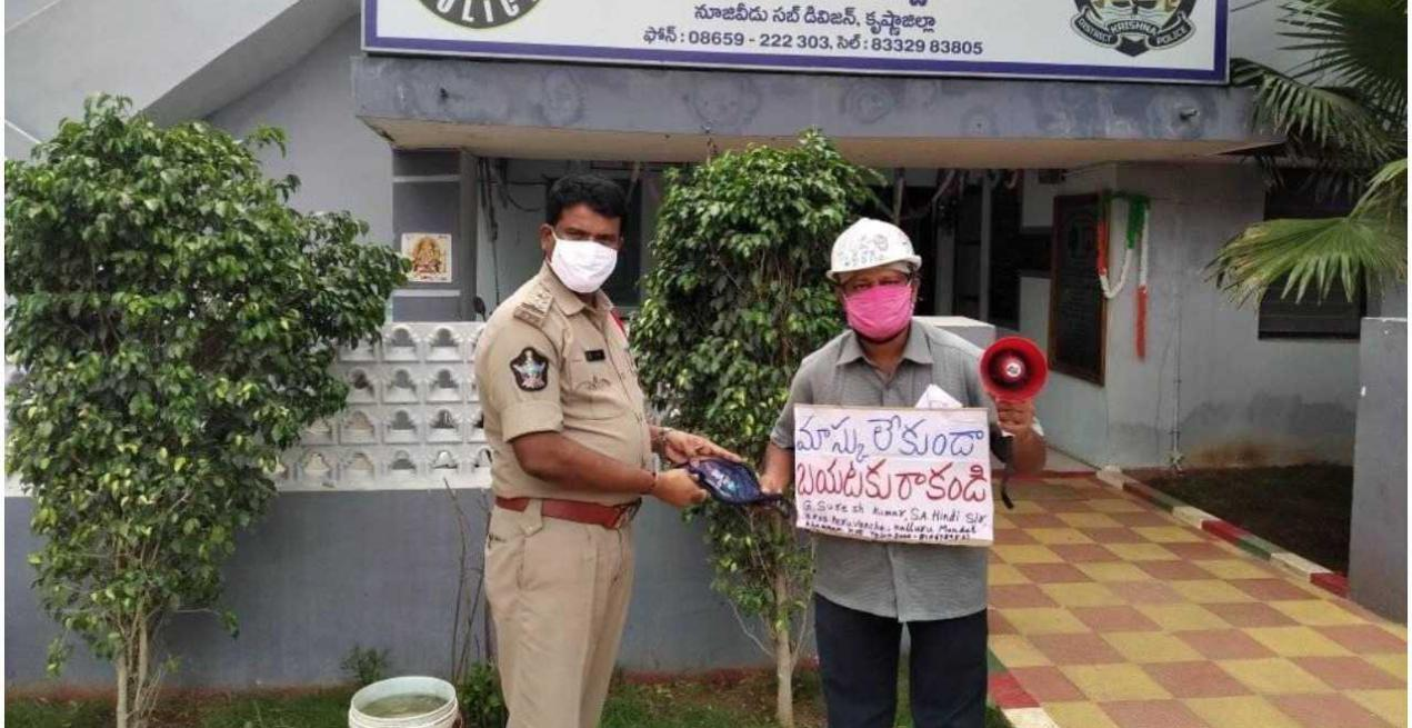 Telangana Teacher Cycles to More Than 250 Villages to Spread Awareness About COVID