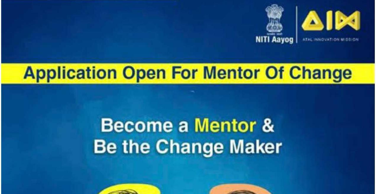 Atal Innovation Mission Invites Educators to Participate in Mentor India Programme