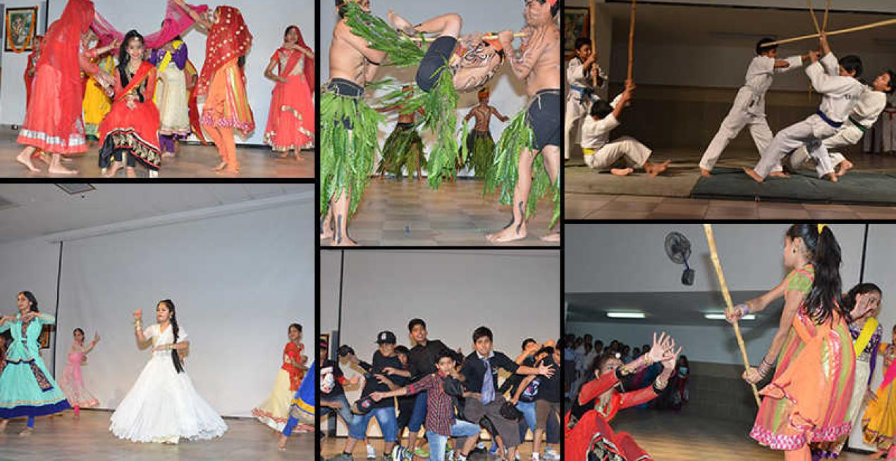 Students of Sanskar School Jaipur Display Transition in Life Styles