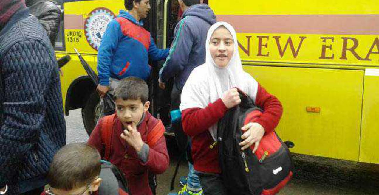 All schools in Kashmir Valley reopen today after 8 months