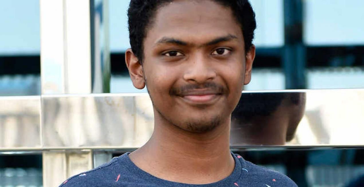Shaamil Karim among the 100 regional finalists for the Google Science Fair contest