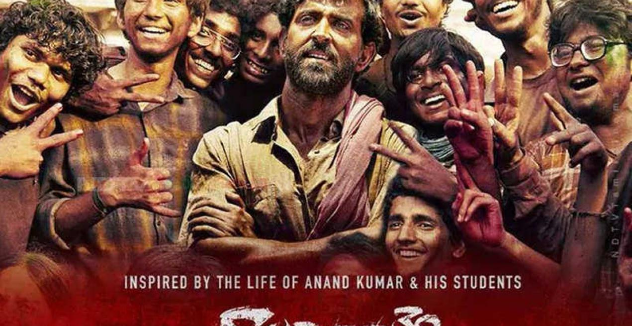 Deeply moved by the movie- Super30: Vice President
