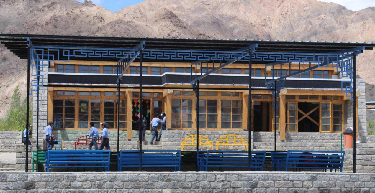 This Ladakh School Is Focusing On Non-Academic Activities Due To Lack Of Internet