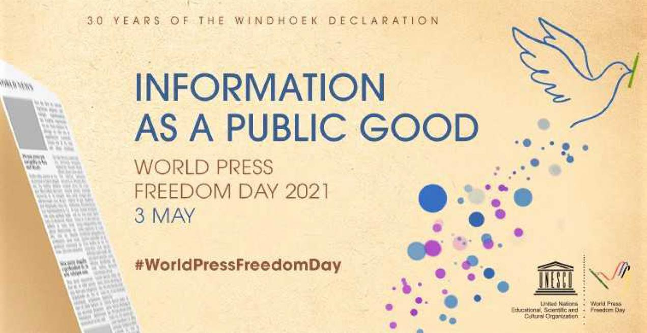 World Press Freedom Day 2021: Information As A Public Good